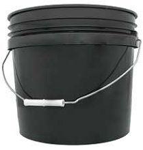 Black Bucket 3gal