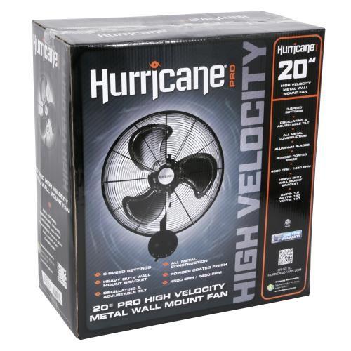 Hurricane Wall Fan 20