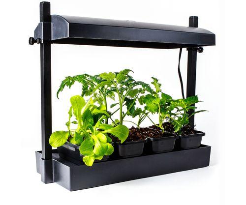 Sunblaster Micro LED Grow Light Garden, Black