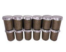 Ultimate 1/2 Pint Substrate Jars (12-Pack)