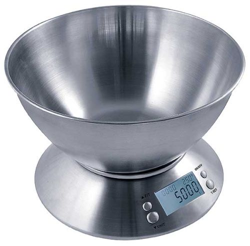 Measure Master® 5000 g Large Capacity Digital Scale with 1.6 L Bowl